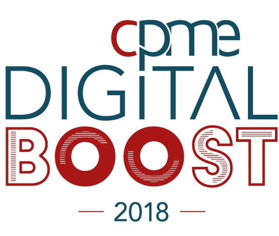 Logo CPME Digital Boost 2018